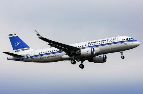 самолет Kuwait Airways